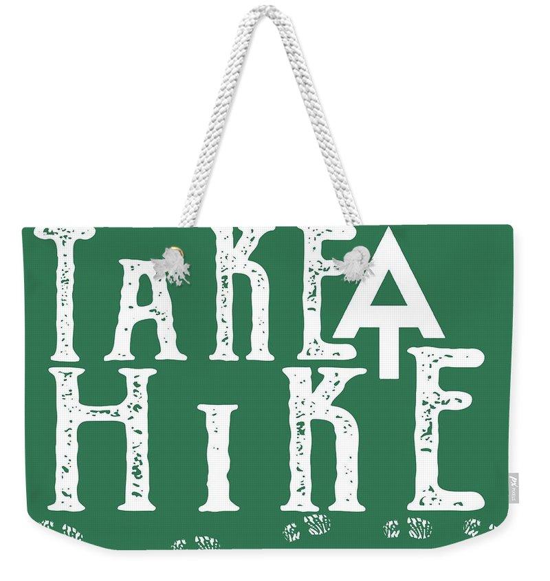 Hike Weekender Tote Bags