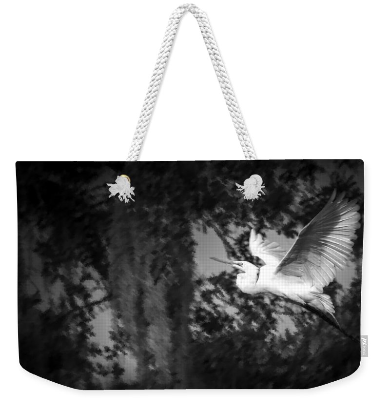 Cove Weekender Tote Bag featuring the photograph Take Flight by Marvin Spates