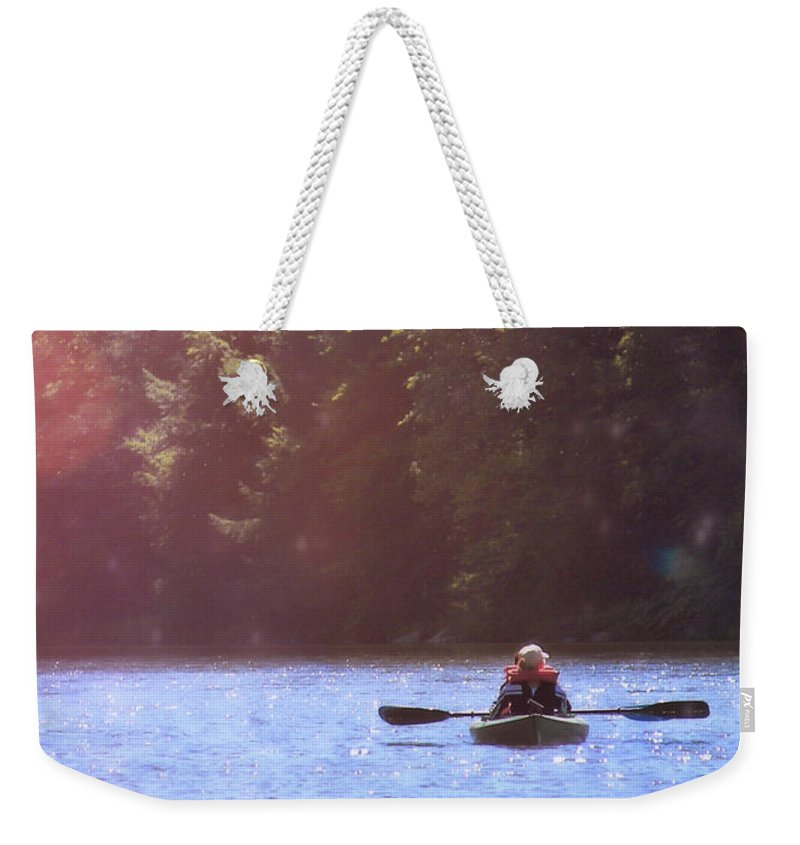 River Weekender Tote Bag featuring the photograph Take Me There by JAMART Photography