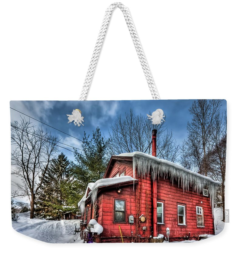 Home Weekender Tote Bag featuring the photograph Take My Hand by Evelina Kremsdorf
