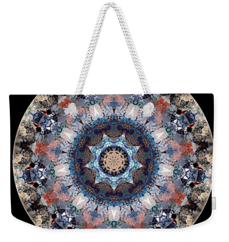 Talisman Weekender Tote Bag featuring the digital art Talisman 2415 by Marek Lutek