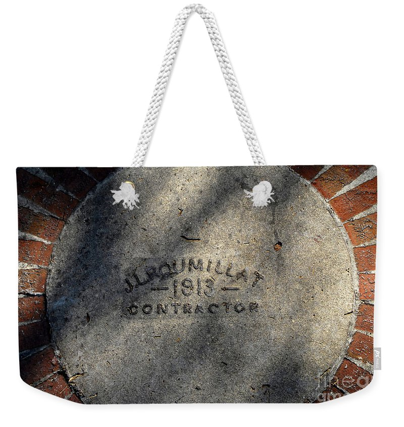 Contractor Weekender Tote Bag featuring the photograph Tampa Bay Hotel 1913 by David Lee Thompson