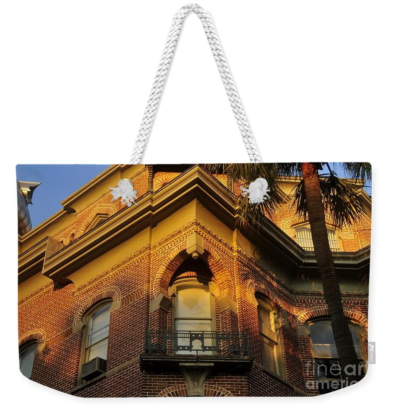 Tampa Bay Hotel Florida Weekender Tote Bag featuring the photograph Tampa Bay Hotel by David Lee Thompson