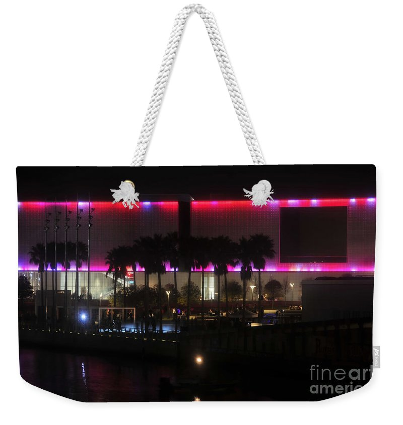 Tampa Museum Of Art Weekender Tote Bag featuring the photograph Tampa Museum Of Art by David Lee Thompson