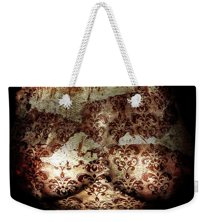 Digital Art Weekender Tote Bag featuring the photograph Tarnished Love by Scott Wyatt