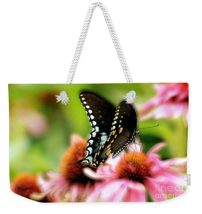 Nature Weekender Tote Bag featuring the photograph Tasty by Lois Bryan