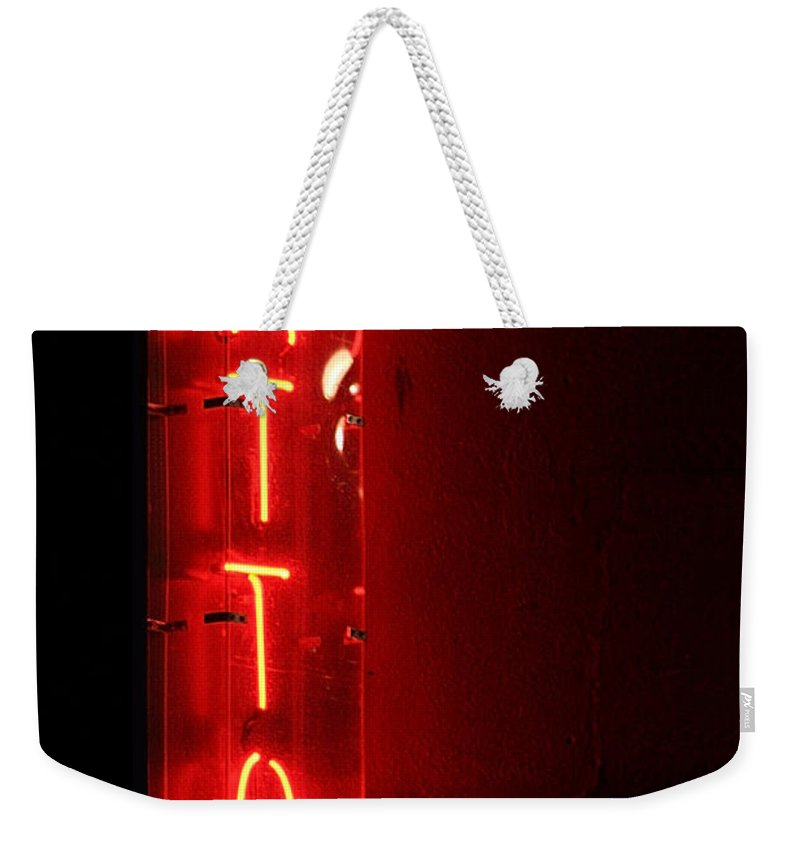 Tattoo Weekender Tote Bag featuring the photograph Tattoo by Jeffery Ball