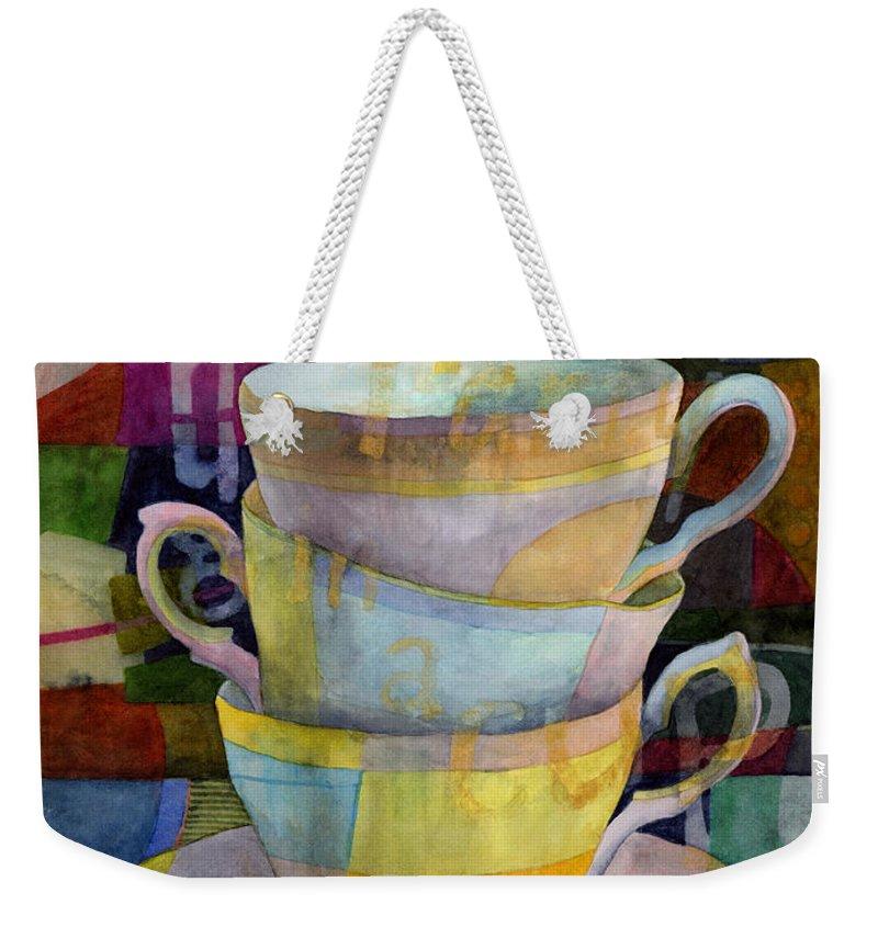 Tea Time Weekender Tote Bags