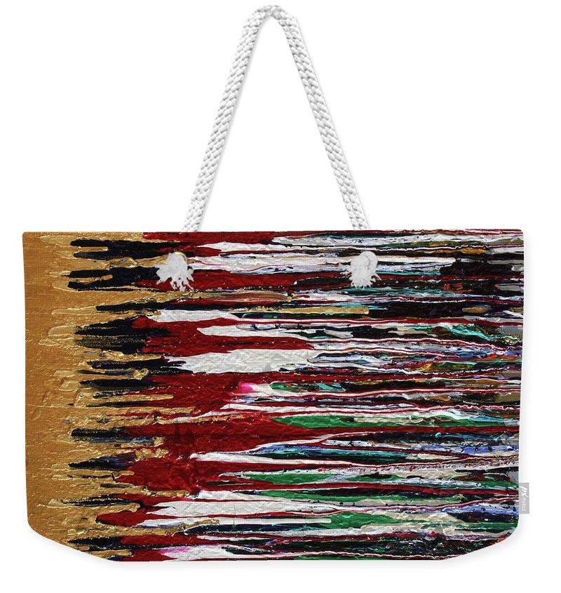 Fusionart Weekender Tote Bag featuring the painting Tears Of The Sun by Ralph White
