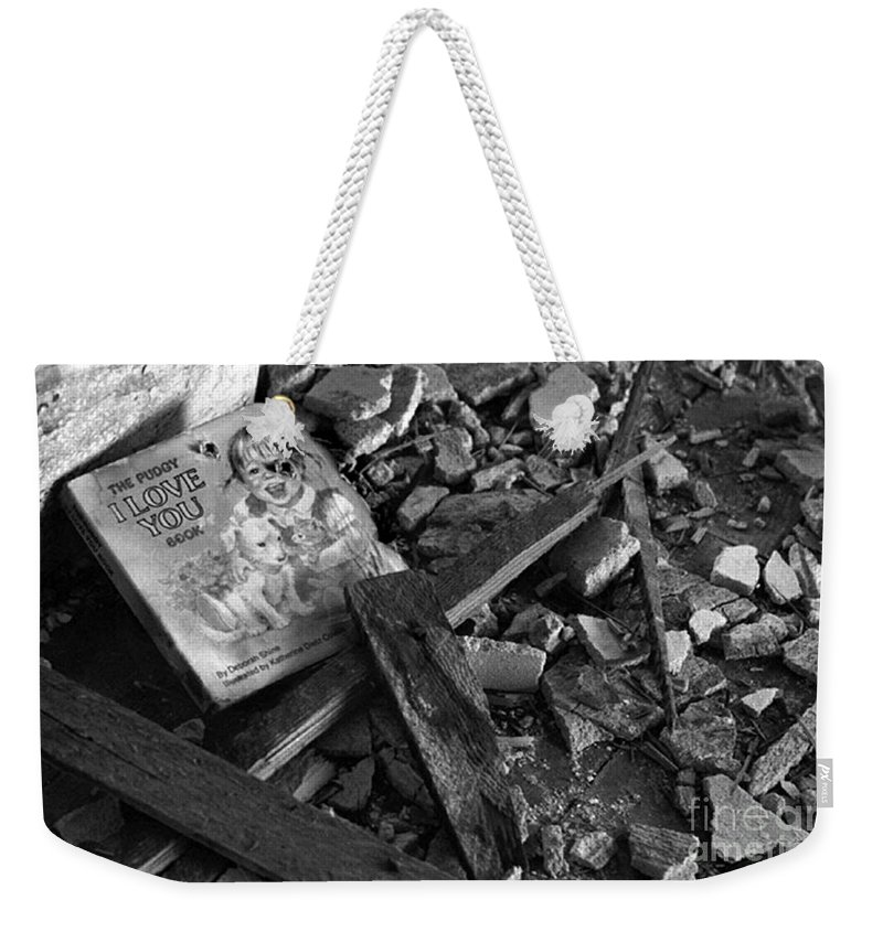 Dark Art Weekender Tote Bag featuring the photograph Tell Me A Story by Peter Piatt