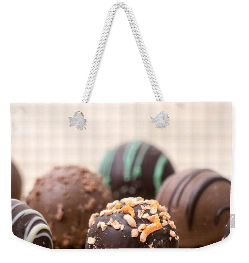 Dessert Photographs Weekender Tote Bags