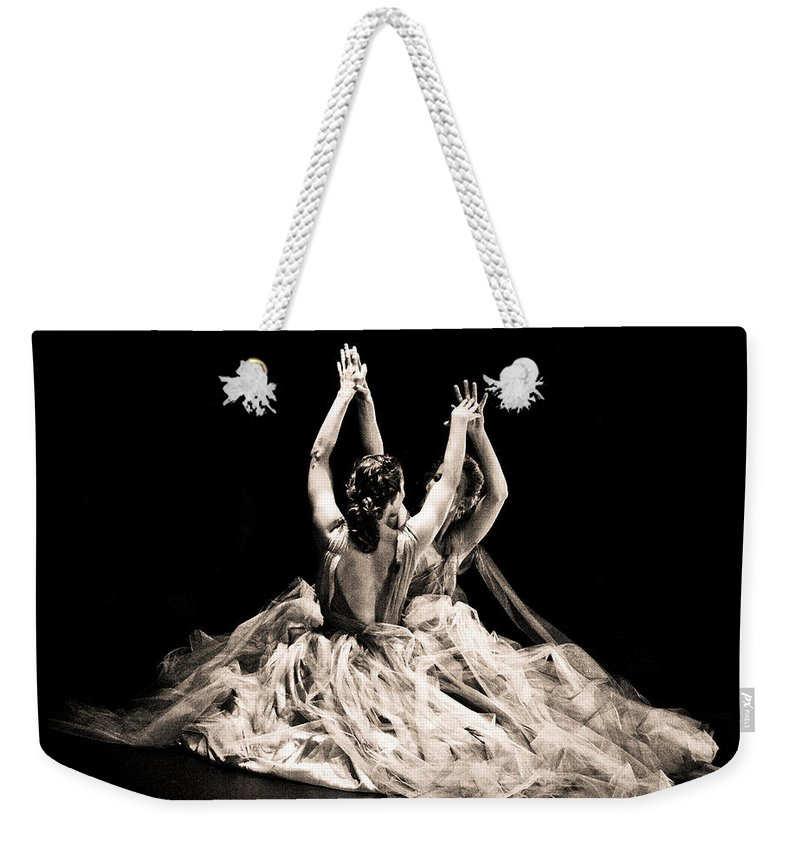 Dance Weekender Tote Bag featuring the photograph Tender Dance by Scott Sawyer