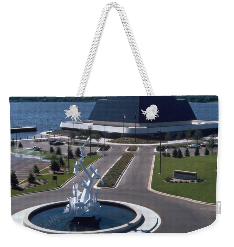 Photography Weekender Tote Bag featuring the photograph Terrace Point Muskegon Michigan by Frederic A Reinecke