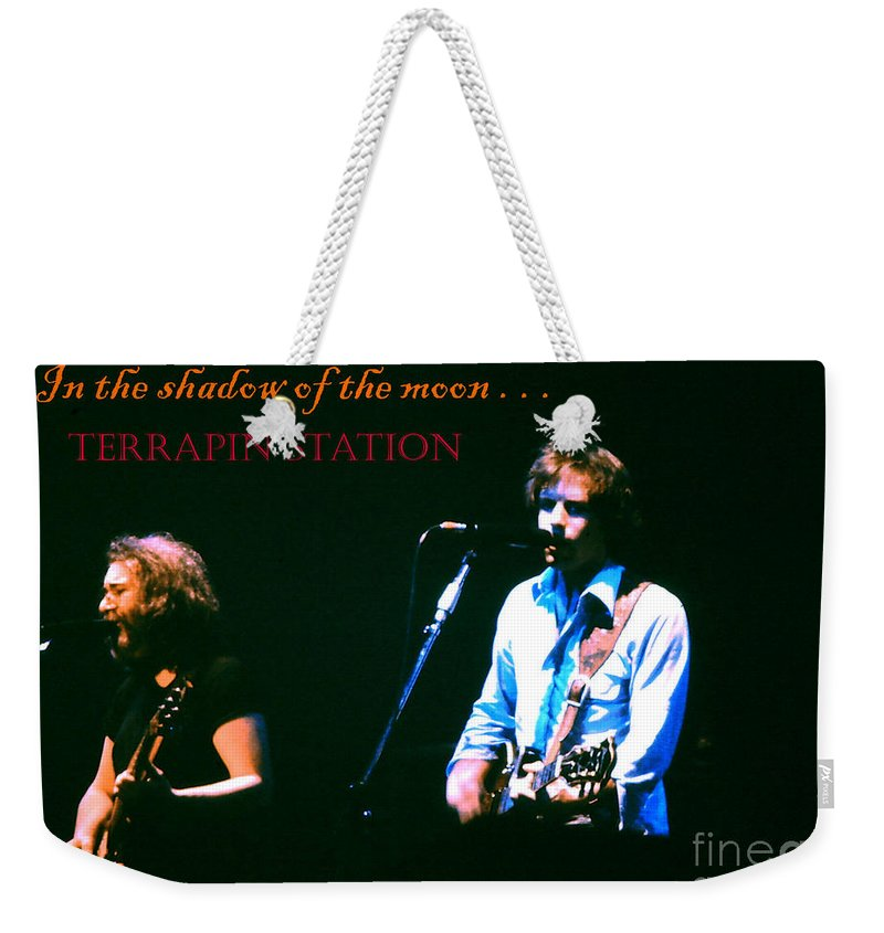 Grateful Dead Weekender Tote Bag featuring the photograph Terrapin Station - Grateful Dead by Susan Carella