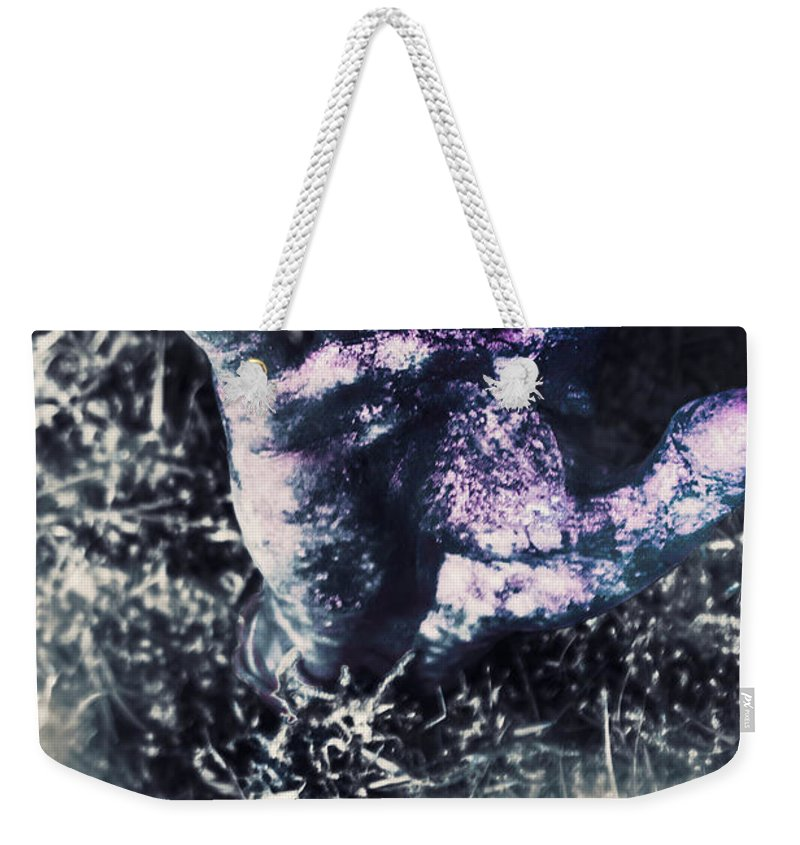 Zombie Weekender Tote Bag featuring the photograph Terror From The Crypt by Jorgo Photography - Wall Art Gallery