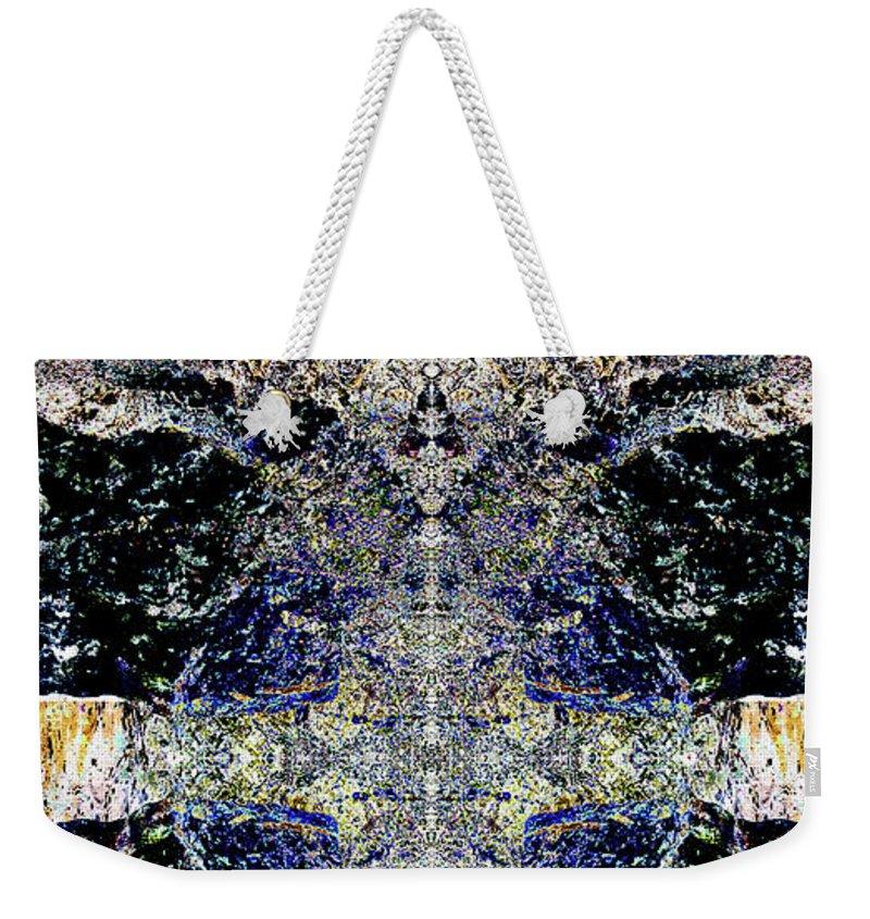 Ocean Weekender Tote Bag featuring the digital art Terrors Of The Deep by Revantide Afterburner
