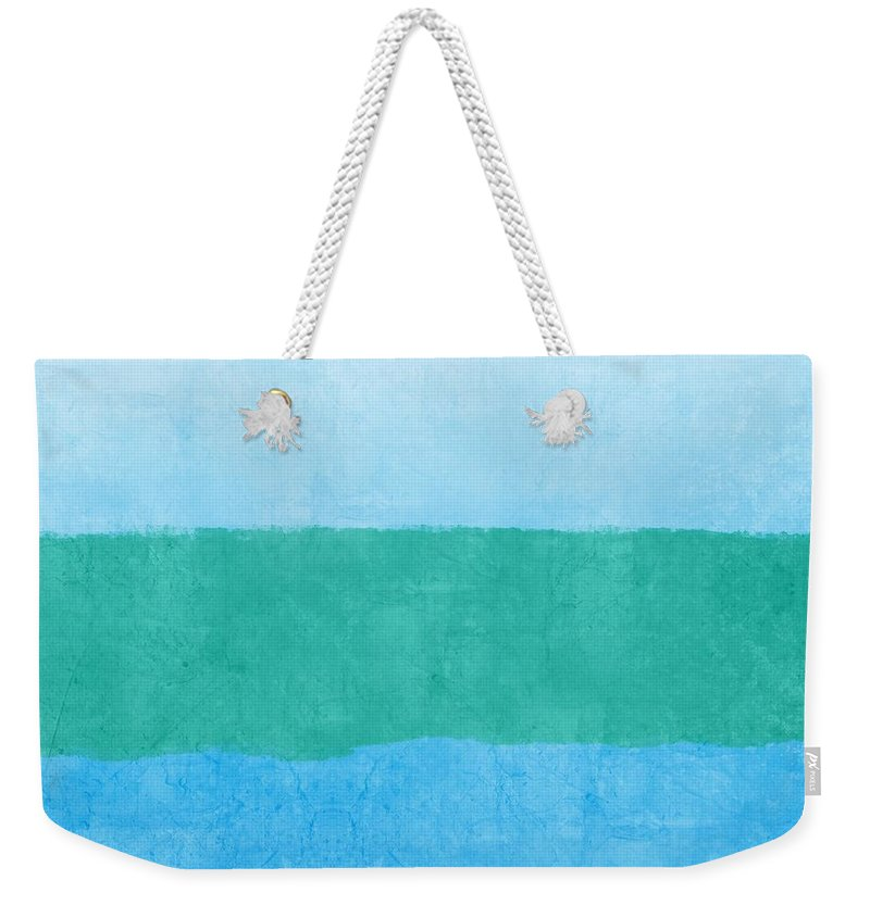 Blue Weekender Tote Bag featuring the photograph Test by Linda Woods