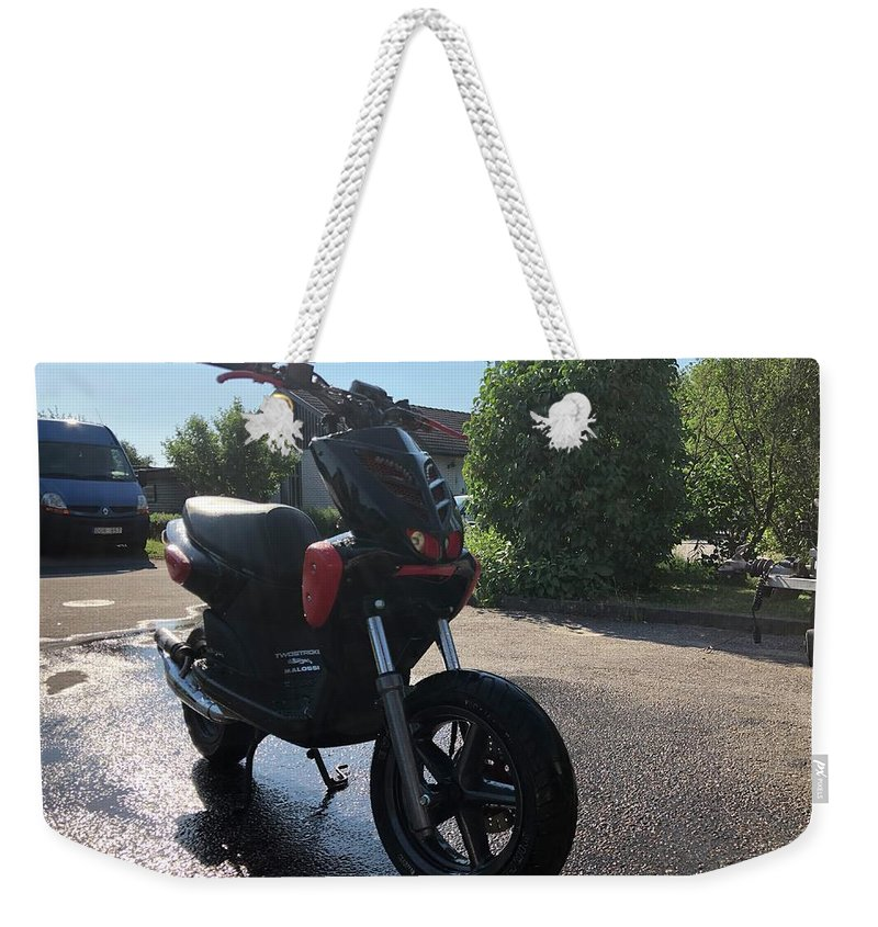 Weekender Tote Bag featuring the photograph Test by Oliver Nilsson