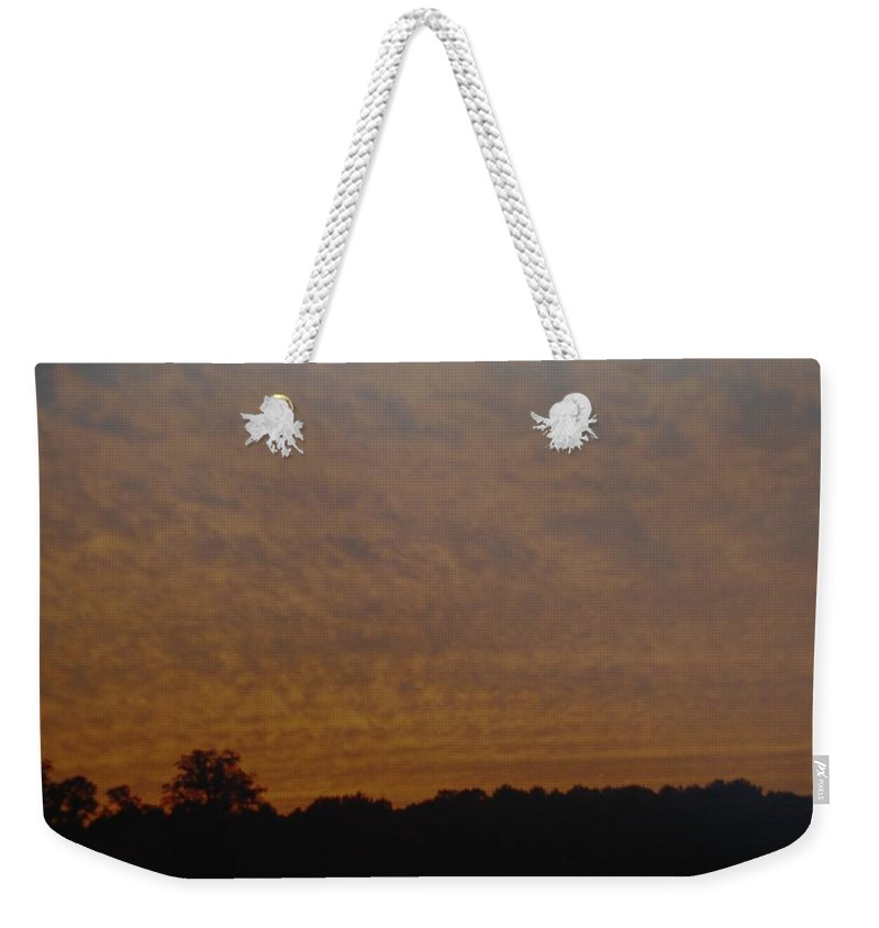 Texas Weekender Tote Bag featuring the photograph Texas Sky by Rob Hans