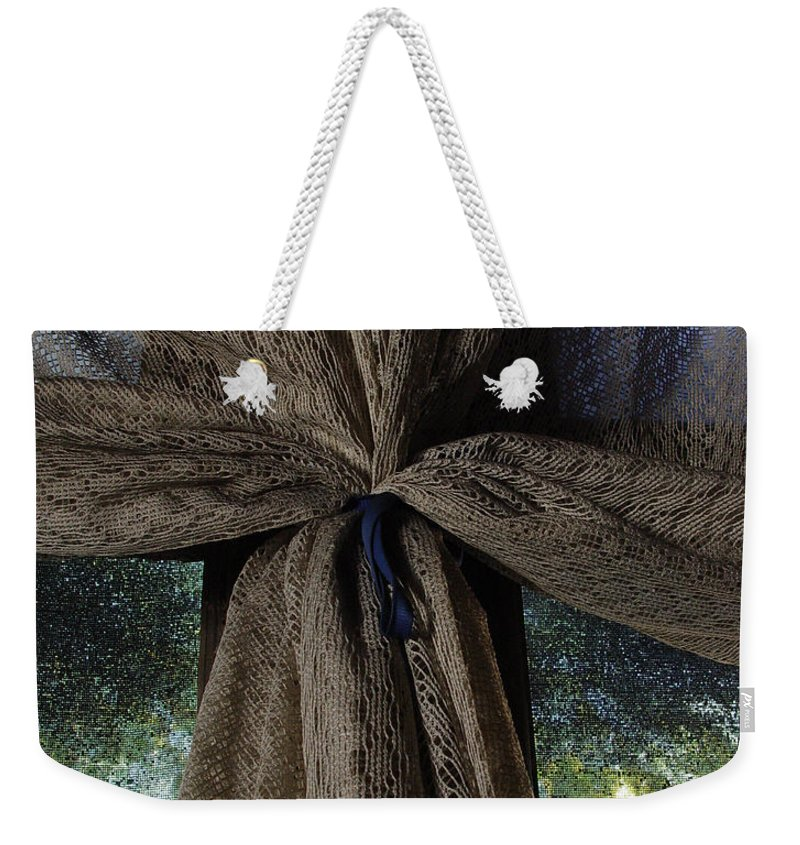 Texture Weekender Tote Bag featuring the photograph Texture And Lace by Peter Piatt
