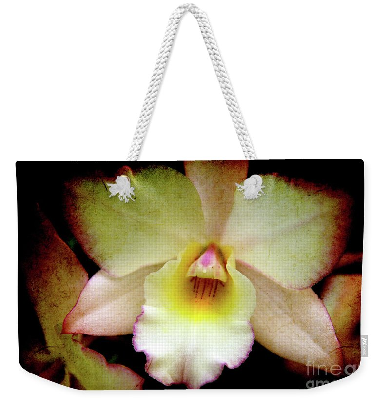 Orchids Weekender Tote Bag featuring the photograph Texture Lady by Susanne Van Hulst