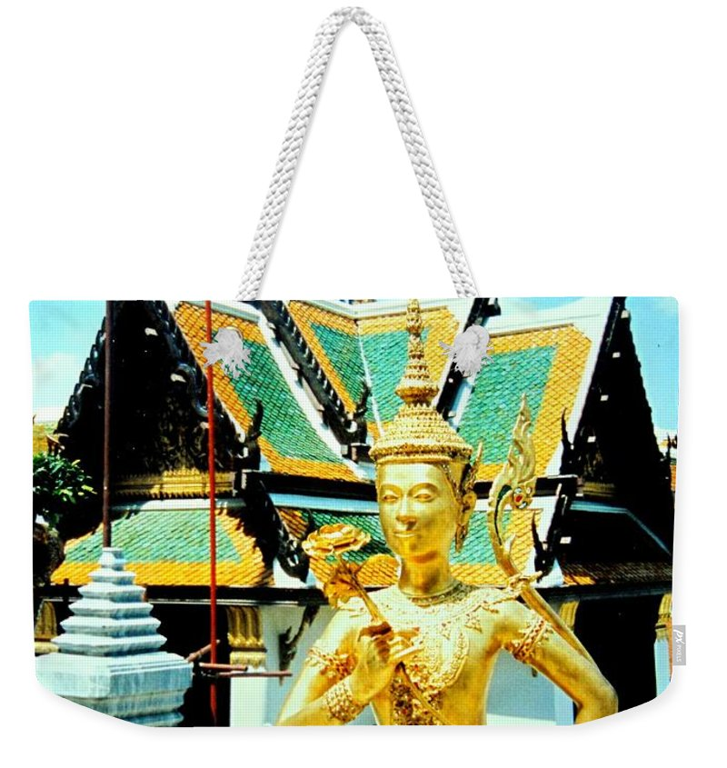 Bangcock Weekender Tote Bag featuring the photograph Thailand by Ian MacDonald