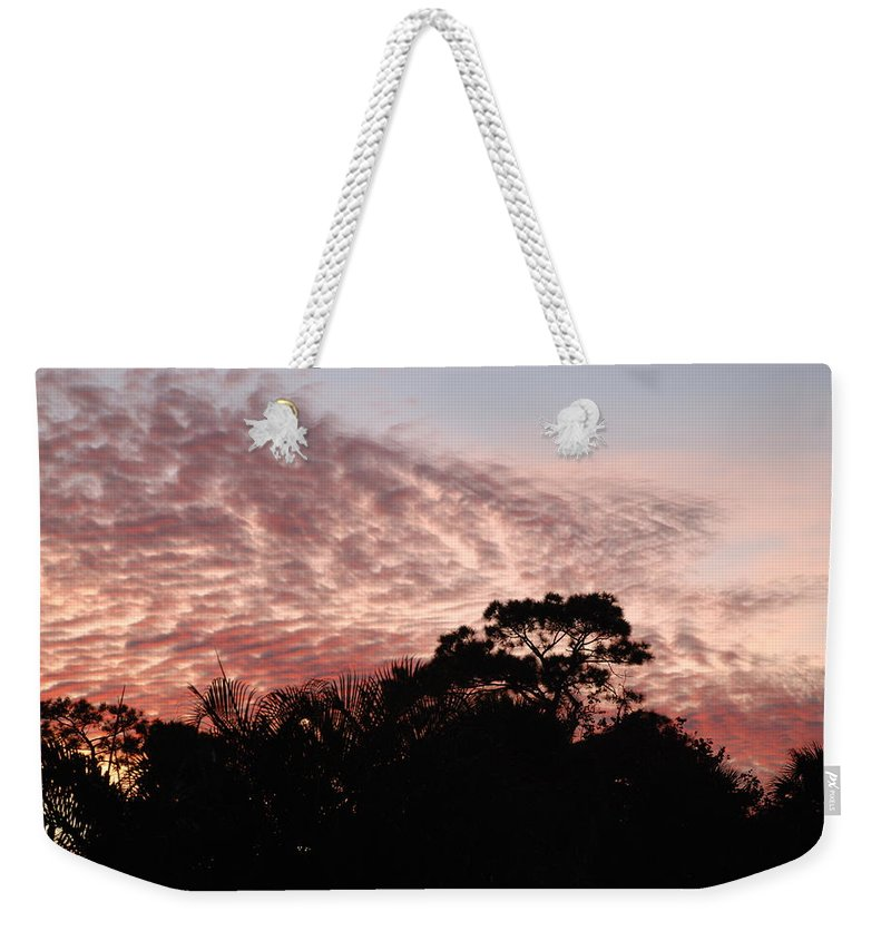 Sky Weekender Tote Bag featuring the photograph Thanksgiving Sky by Rob Hans