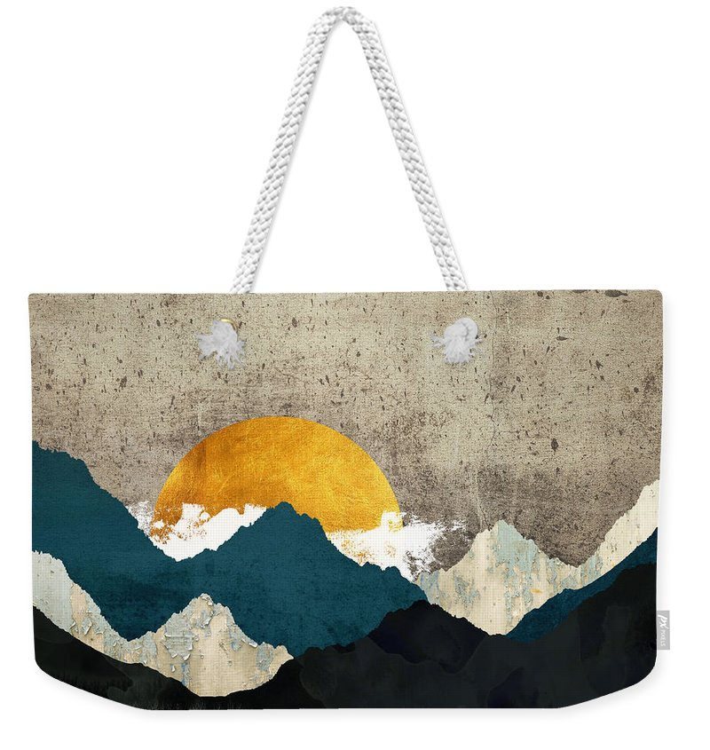 Thaw Weekender Tote Bag featuring the digital art Thaw by Katherine Smit