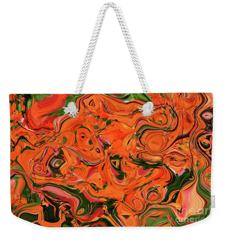 Autumn Weekender Tote Bag featuring the photograph The Abstract Days Of Autumn by Andee Design