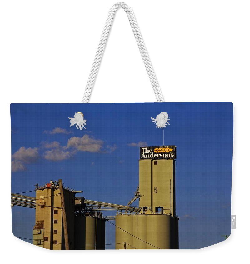 The Andersons Weekender Tote Bag featuring the photograph The Andersons Of Maumee- Horizontal by Michiale Schneider