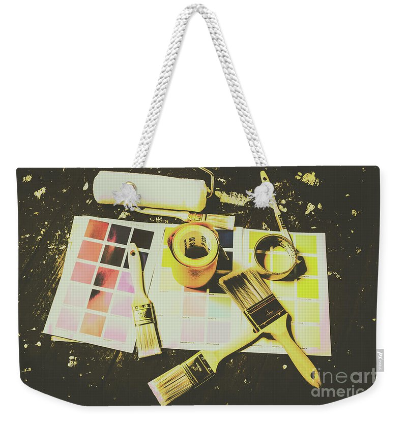 Interior Decorators Weekender Tote Bags