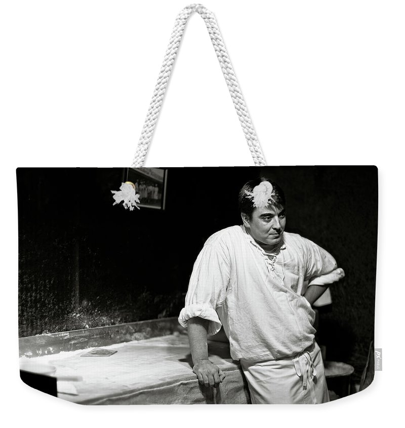 Baker Weekender Tote Bag featuring the photograph The Baker by Dave Bowman