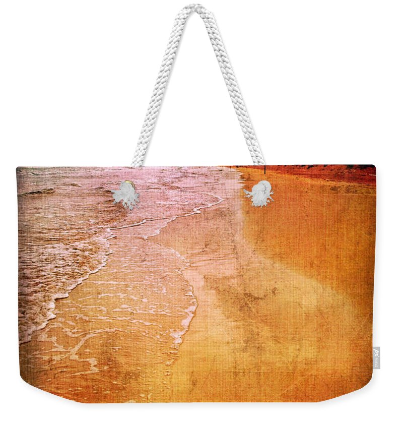 Waves Weekender Tote Bag featuring the photograph The Beach by Silvia Ganora