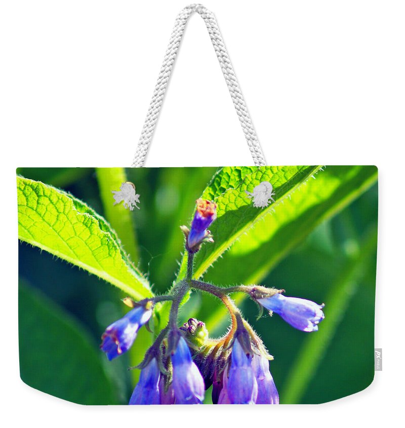 Fine Art Photography Weekender Tote Bag featuring the photograph The Bells Of Ireland by Patricia Griffin Brett