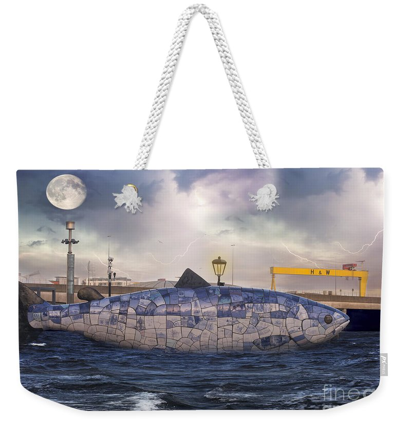 Belfast Weekender Tote Bag featuring the photograph The Big Fish by Juli Scalzi