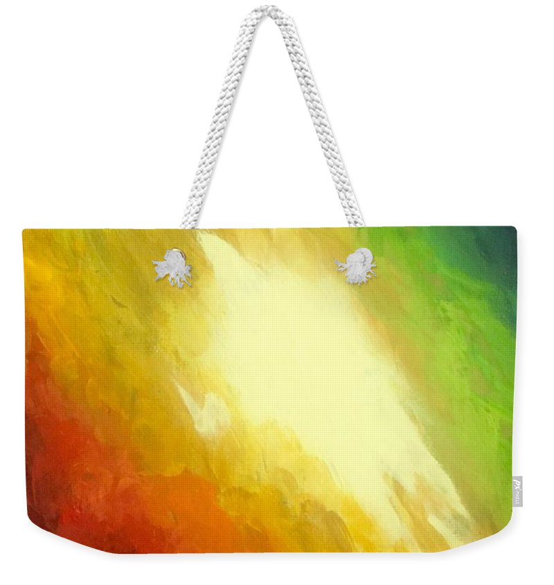 Art Weekender Tote Bag featuring the painting The Birth Of Conceit by Edward Paul