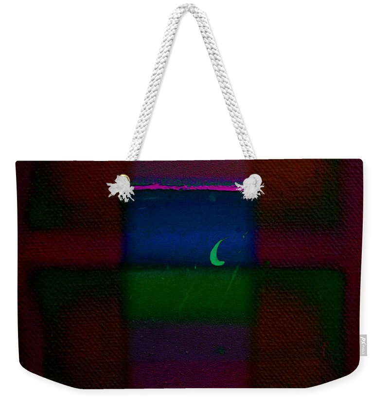 Rothko Weekender Tote Bag featuring the painting The Blue Nile by Charles Stuart