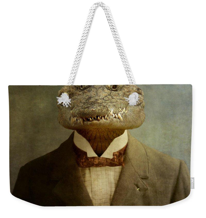 Crocodile Weekender Tote Bags