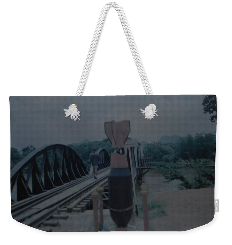Bridge Weekender Tote Bag featuring the photograph The Bridge On The River Kwai by Rob Hans