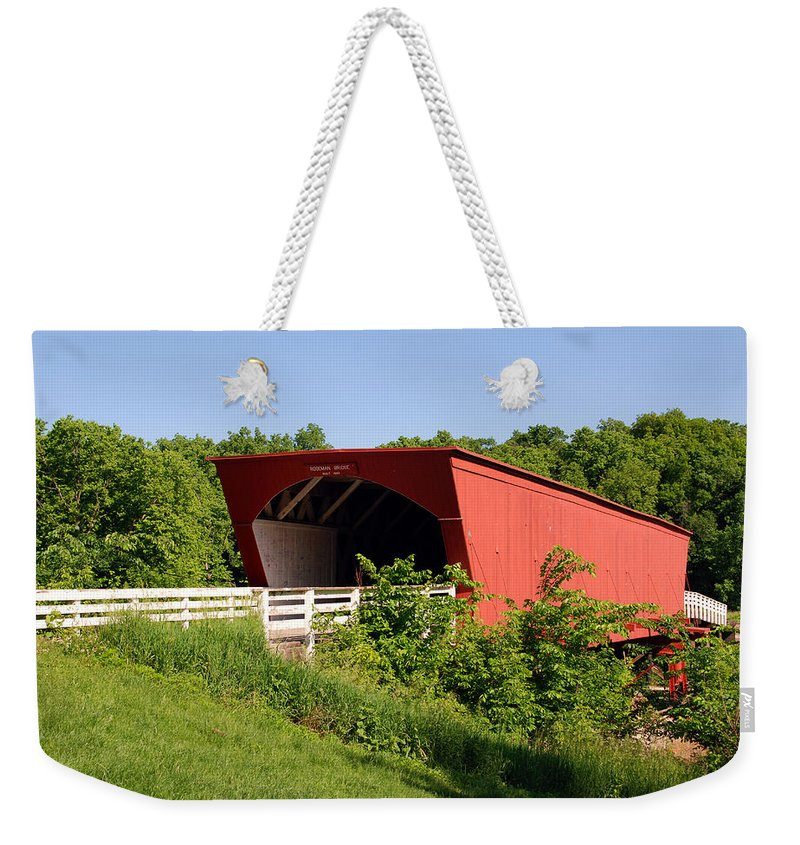 Photography Weekender Tote Bag featuring the photograph The Bridges Of Madison County by Susanne Van Hulst