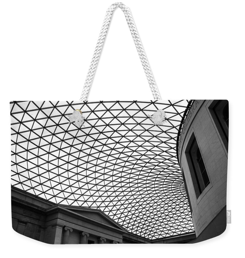 British Museum Weekender Tote Bag featuring the photograph The British Museum by Martin Newman