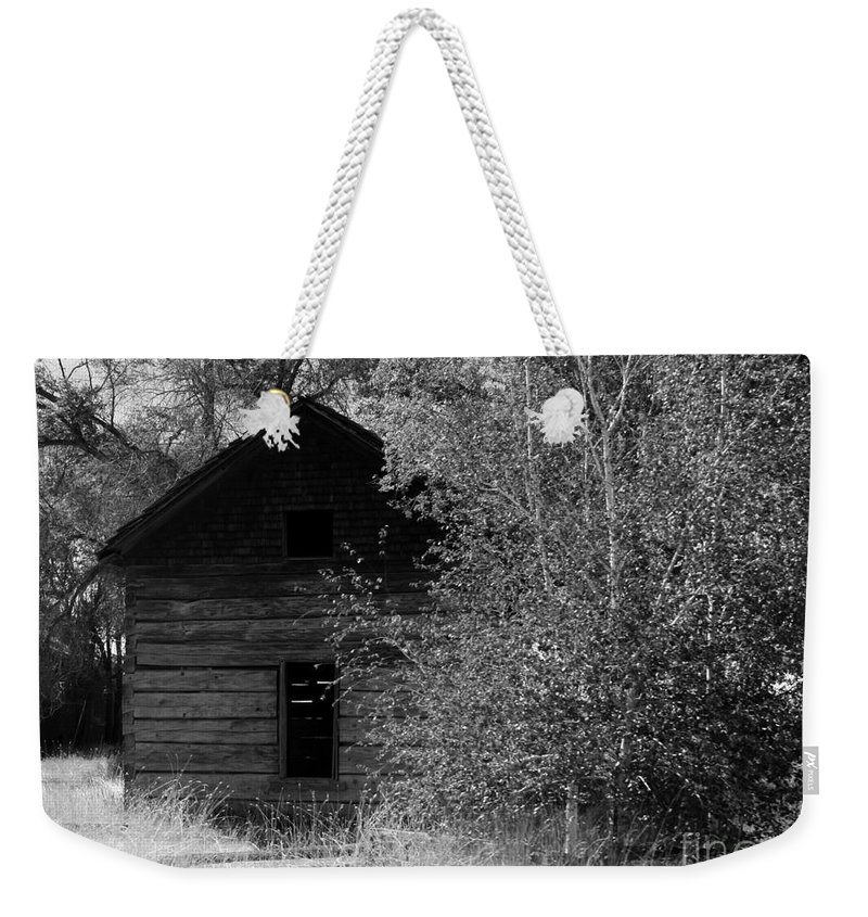 Cabin Weekender Tote Bag featuring the photograph The Cabin by Carol Groenen