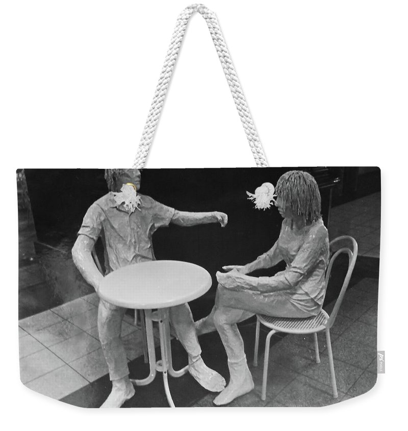 Cafe Weekender Tote Bag featuring the photograph The Cafe by Mark Blauhoefer