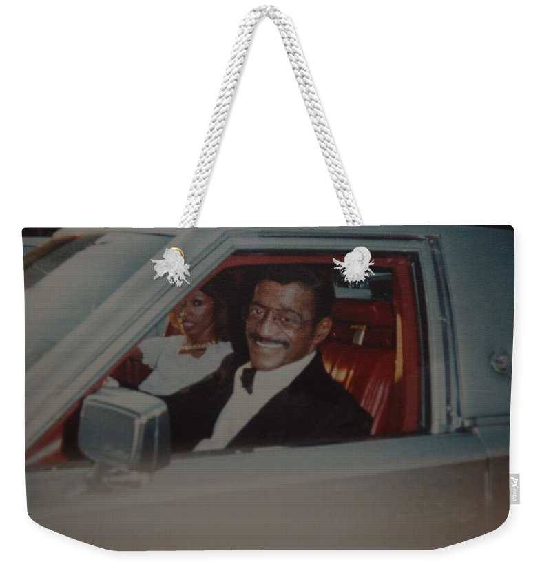 Movie Star Weekender Tote Bag featuring the photograph The Candy Man by Rob Hans