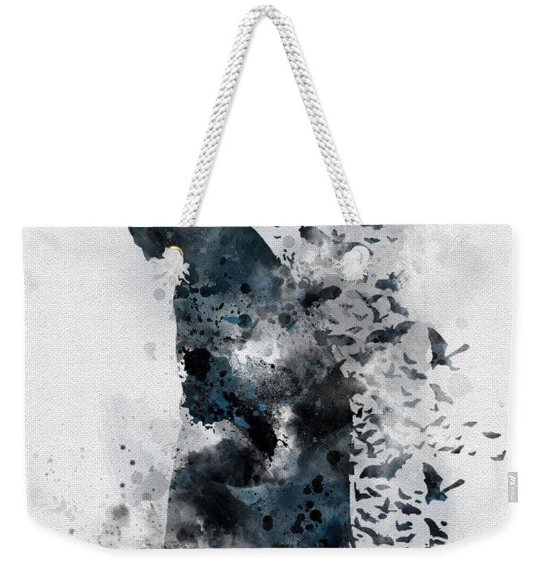 Bat Weekender Tote Bags