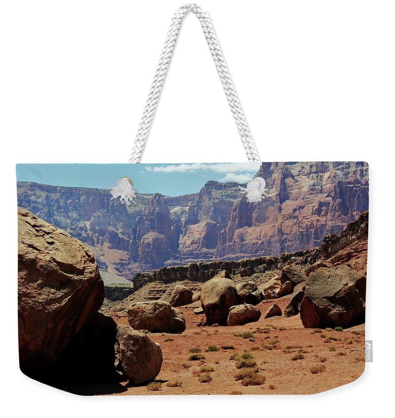 Arizona Weekender Tote Bag featuring the photograph The Challenges Ahead by DL Harrison