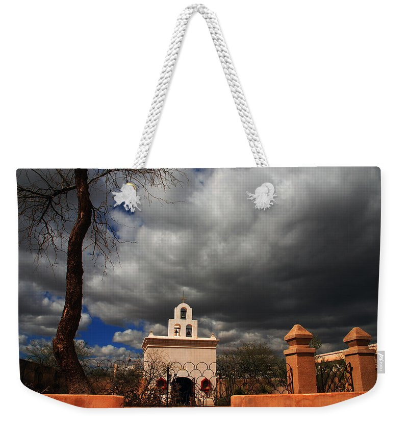 Photography Weekender Tote Bag featuring the photograph The Chapel by Susanne Van Hulst