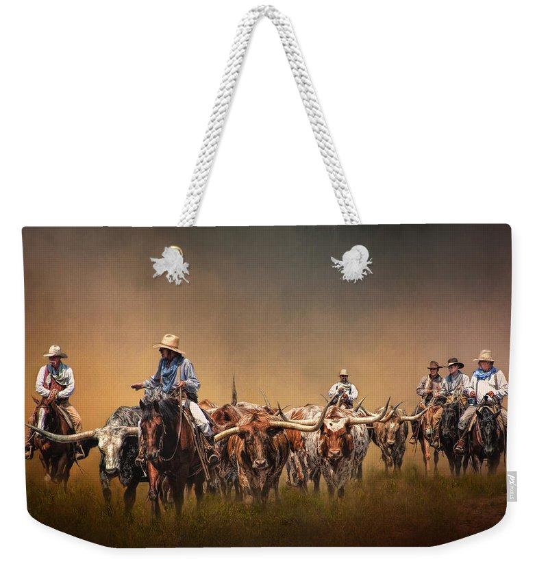 Texas Weekender Tote Bags