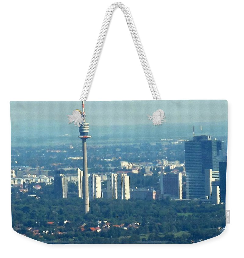 Austria Weekender Tote Bag featuring the photograph The City Of Vienna Austria by Ian MacDonald