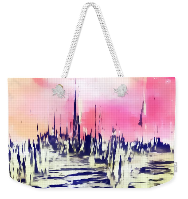Apocalypse Weekender Tote Bag featuring the photograph The City by Tom Gowanlock